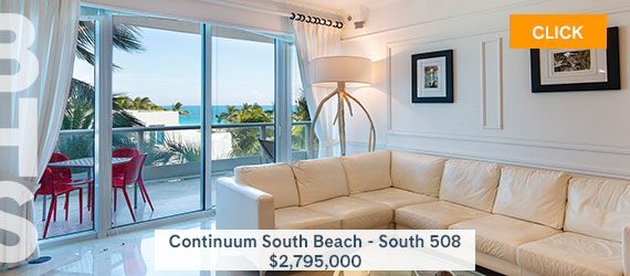 Continuum South Beach South Tower 508